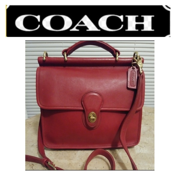 26+ Coach Willis Bag Red Background